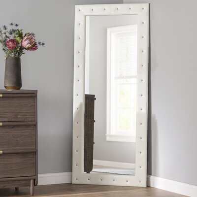 Leather Amp Faux Leather Mirrors You Ll Love In 2019 Wayfair