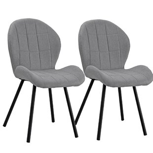 Gibby Upholstered Dining Chair (Set of 2)..