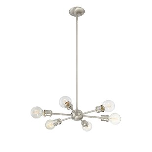 Willa Arlo Interiors Bautista 6-Light Chandelier
