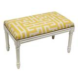Aliyah Upholstered and Wood Bench