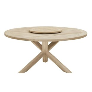 Osman Round Dining Table Bungalow Rose