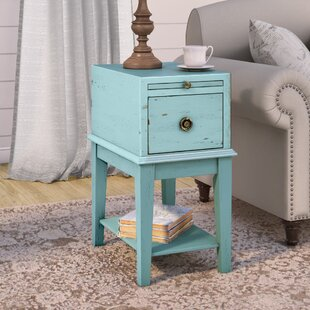 Philippine End Table With Storage