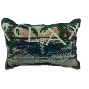 Robyn Sunset Sails Relax Hammock Decorative Tapestry Lumbar Pillow