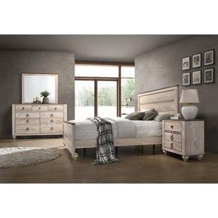 Tavistock Panel 4 Piece Bedroom Set by Three Posts Wonderful