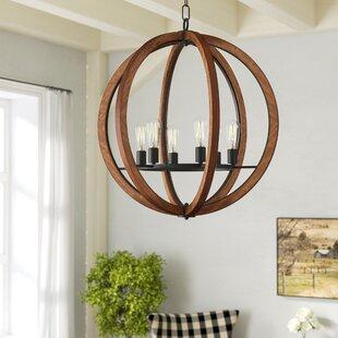 Orly 6-Light Globe Chandel..