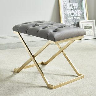 Clearance Heeter Upholstered Bench By Mercer41