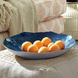 Giana Indigo Decorative Bowl & Decorative Plates \u0026 Bowls   Birch Lane