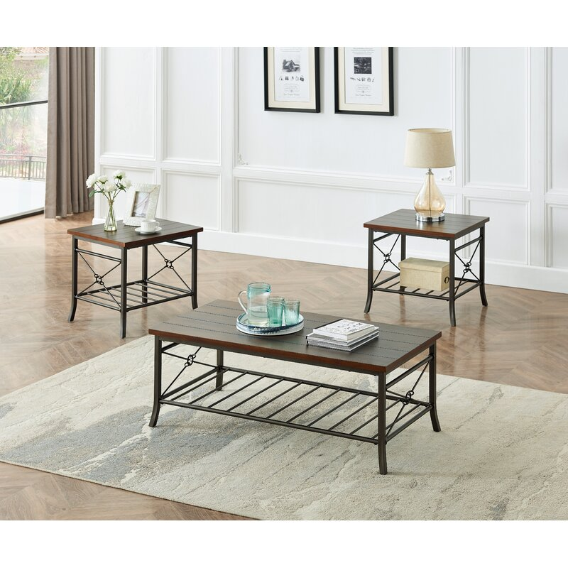 Red Barrel Studio Ariyahna 3 Piece Coffee Table Set Wayfair