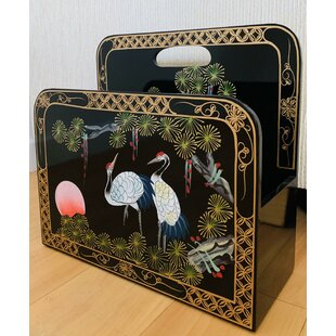 Cliffo Magazine Rack By World Menagerie