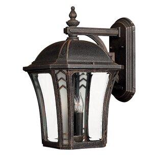 Best Price Keltner 3-Light LED Outdoor Wall Lantern By Alcott Hill