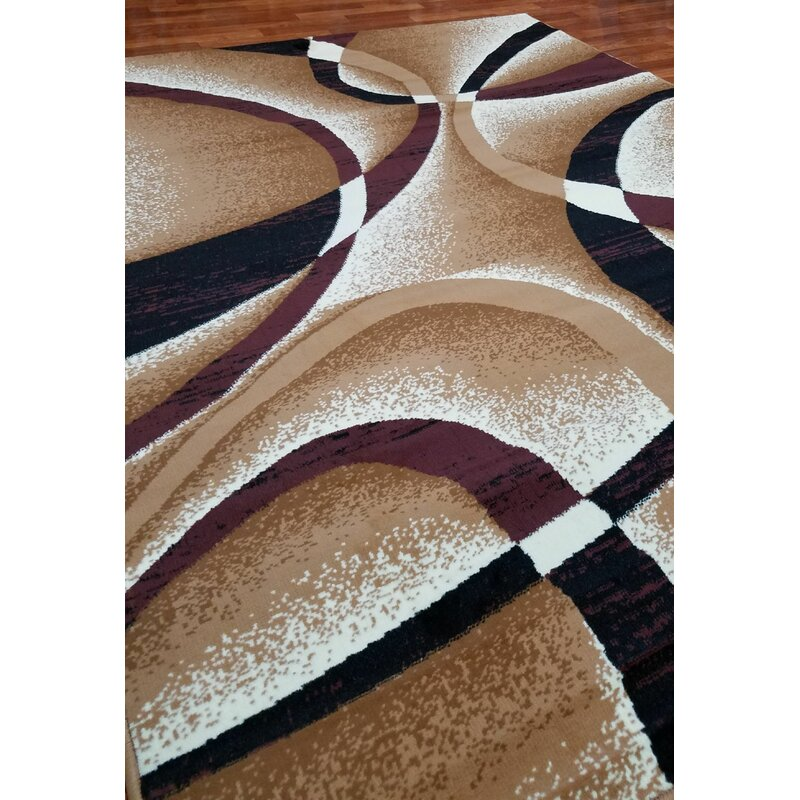 Orren Ellis Garabed Abstract Tufted Beige Area Rug Reviews Wayfair