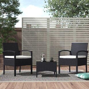 Belia 2 Seater Rattan Conversation Set By Sol 72 Outdoor