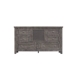 Roberson 6 Drawer Combo Dresser