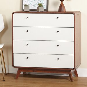 Trinity 4 Drawer Dresser by Langley Street