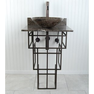 Affordable Mission Metal Circular Vessel Bathroom Sink By D'Vontz