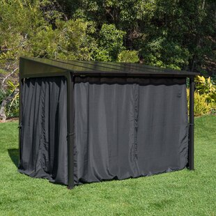 10 Ft. W x 8 Ft. D Steel Patio Gazebo by Royal Garden