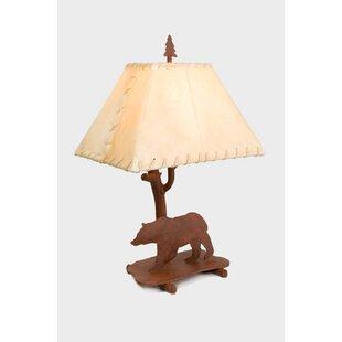 Bear Shasta 22 Table Lamp