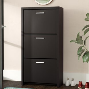 Rebrilliant 12-Pair Shoe Storage Cabinet