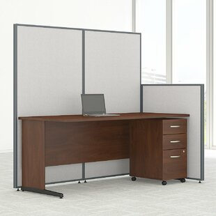 Bush Business Furniture ProPanel 6 Piece Desk Office Suite