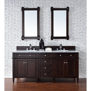 Deleon 72 Double Base Bathroom Vanity Set by Darby Home Co