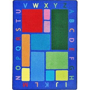 Reviews Building Blocks Blue Area Rug ByThe Conestoga Trading Co.