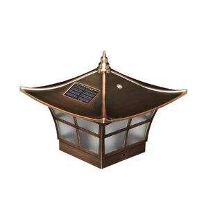 Classy Caps Solar 2-Light Fence Post Cap