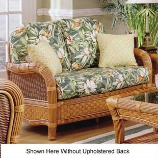 Shelter Island Loveseat With Cushions by South Sea Rattan #2