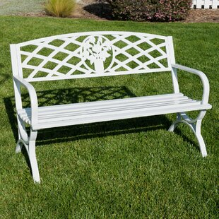 Cool Olguin Outdoor Steel Park Bench Camellatalisay Diy Chair Ideas Camellatalisaycom