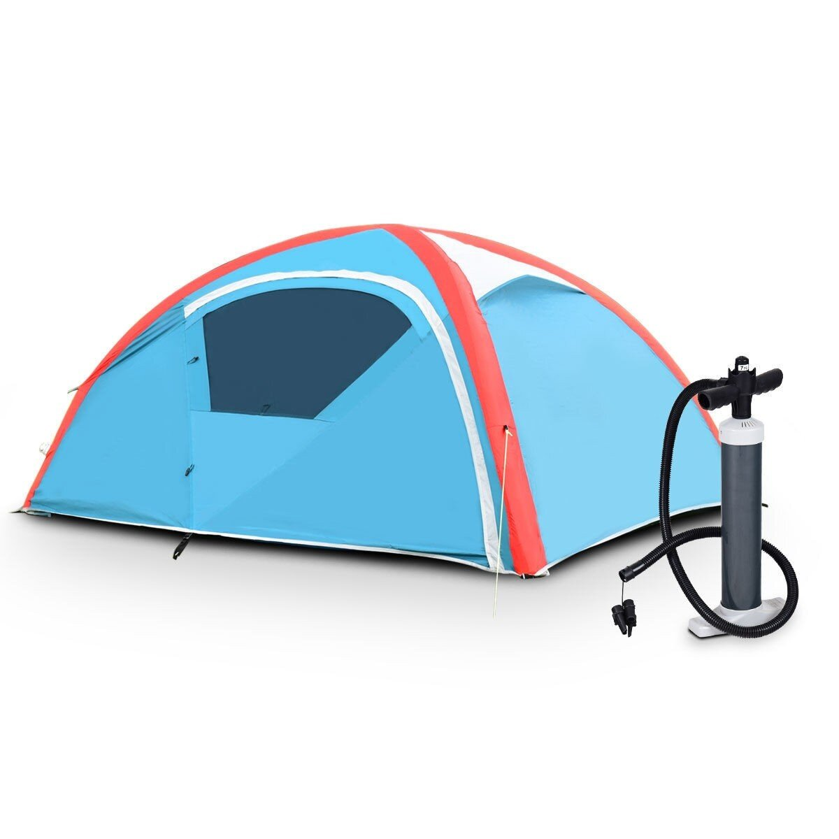 Lukio Inflatable 3 Person Tent With Bag And Pump Wayfair