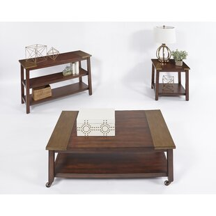 Brayden Studio Newsoms 3 Piece Coffee Table Set