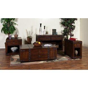 Loon Peak Fresno 4 Piece Coffee Table Set