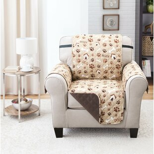 Print T-Cushion Armchair Slipcover