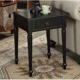 Widmer End Table by Charlt..