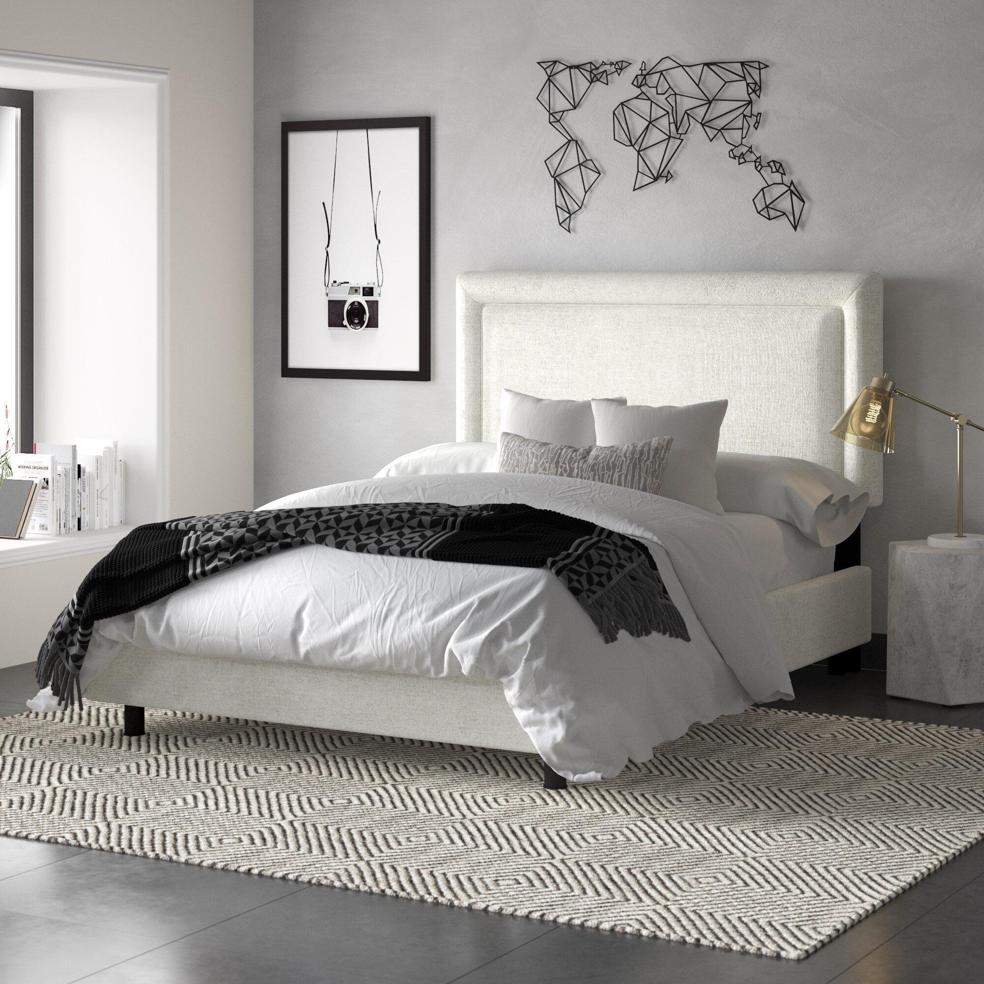 Mercury Row Teen Mascorro Upholstered Standard Bed Reviews Wayfair