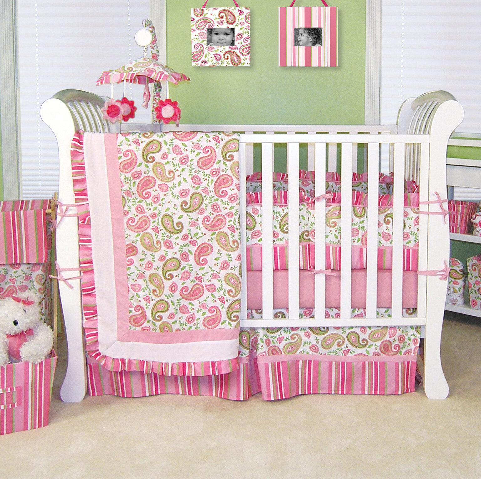 2b4f72e76246 Harriet Bee Tomko Paisley 4 Piece Crib Bedding Set   Reviews