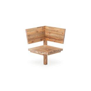 Unit Teak Solid Wood Corner Bench Element By Niehoff Garden