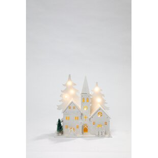 2 Cool White Church Timer Lamp Image
