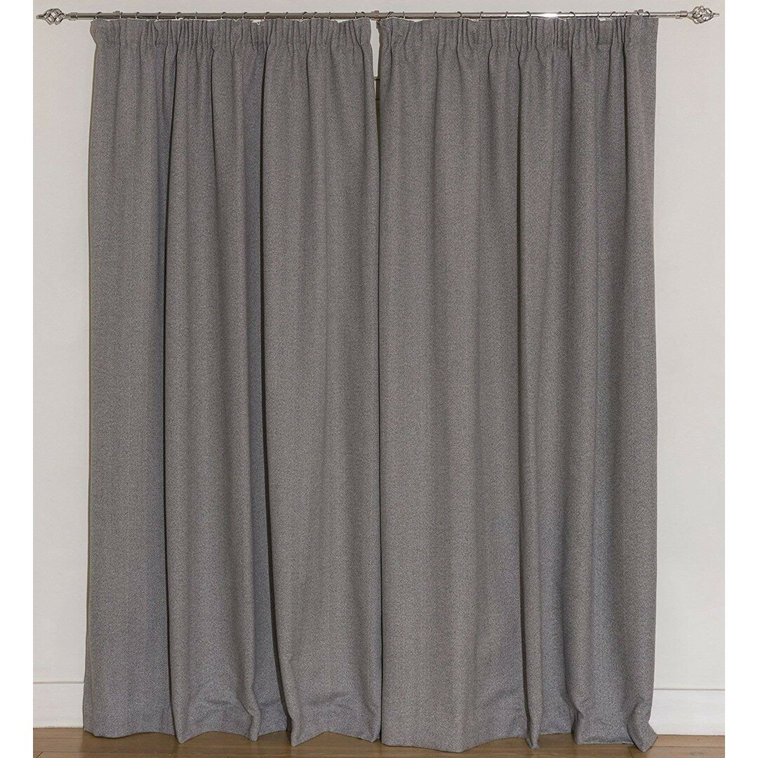 Anson Pencil Pleat Blackout Thermal Curtains