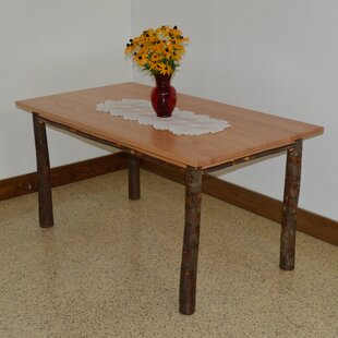 Hickory Solid Wood Dining Table