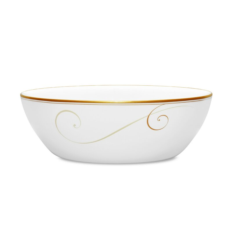 Noritake Golden Wave 3 Qt Vegetable Bowl Wayfair