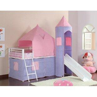 Cullins Princess Castle Tent Loft Twin Bed