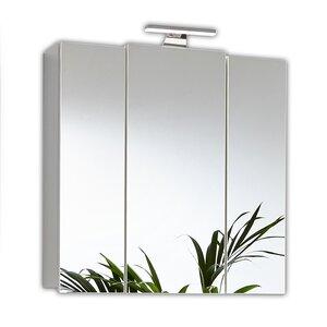 68 cm x 71 cm Spiegelschrank mit LED Beleuchtun..