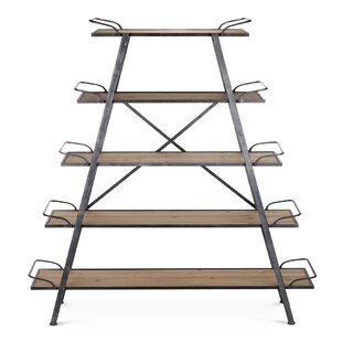 Brick Williams Etagere Bookcase by 17 Stories