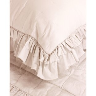 Ringgold Ruffle Voile Quilt Set