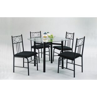 Selina 5PC Dining Set by A&J Homes Studio