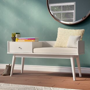 Branson Lake Wood Storage Bench by Langley Street