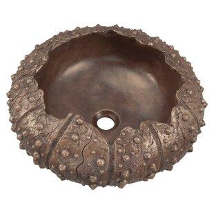 MR Direct Sea Urchin Bronze Specialty Vessel Bathroom Sink