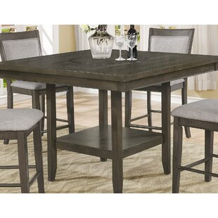 Gracie Oaks Salome Counter Height Dining Table