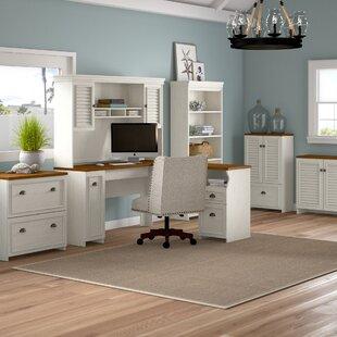 Beachcrest Home Oakridge 6 Piece Office Set