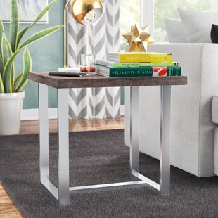 Zariah End Table by Ivy Bronx